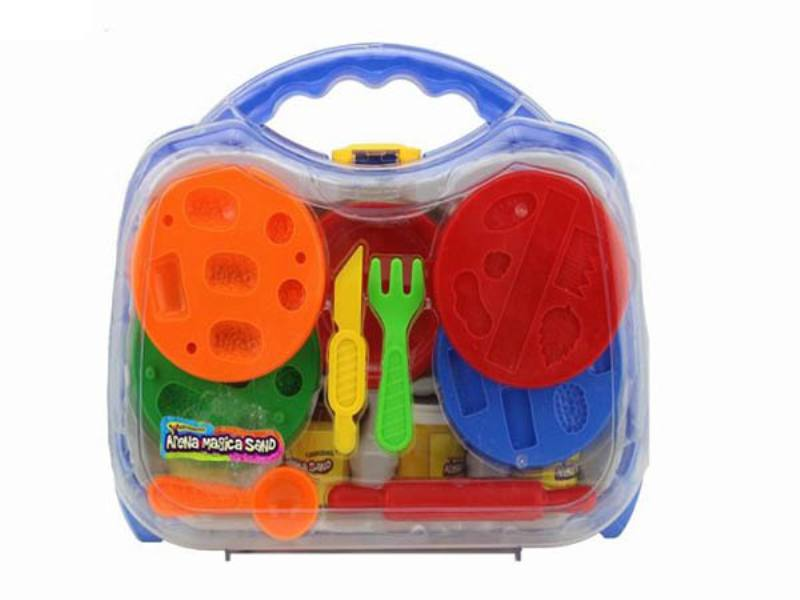 Play house toys 396g Ming benzene box color space power technology sand accessories No.TA172789