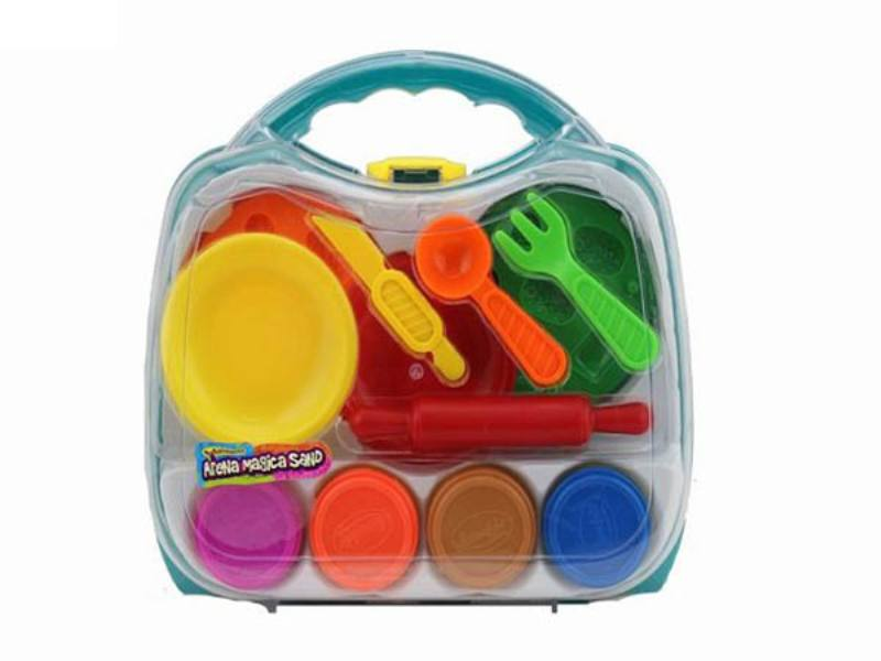 Play house toys 264g benzene box color space power technology sand accessories No.TA172794