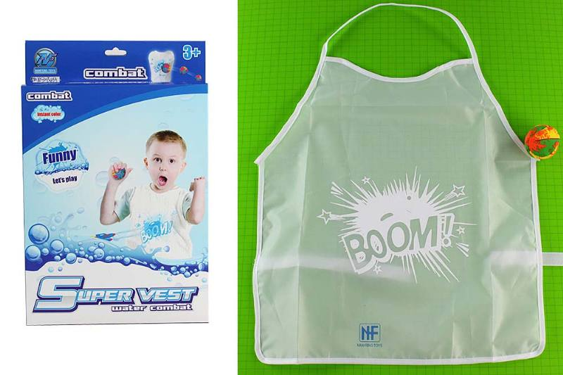 Water smashing protective clothing color clothing toys Color smashing combat clothing equi No.TA235170