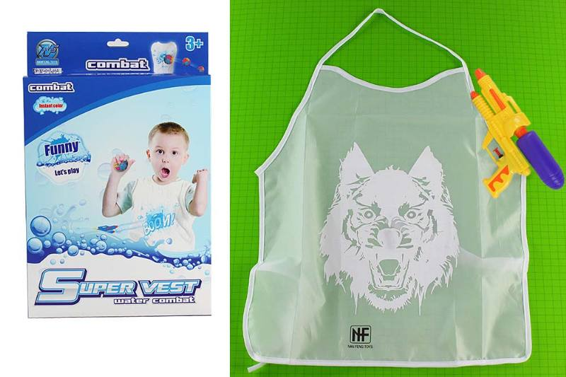 Water fight protective clothing color clothing toys Magic fire protection changing clothin No.TA235171