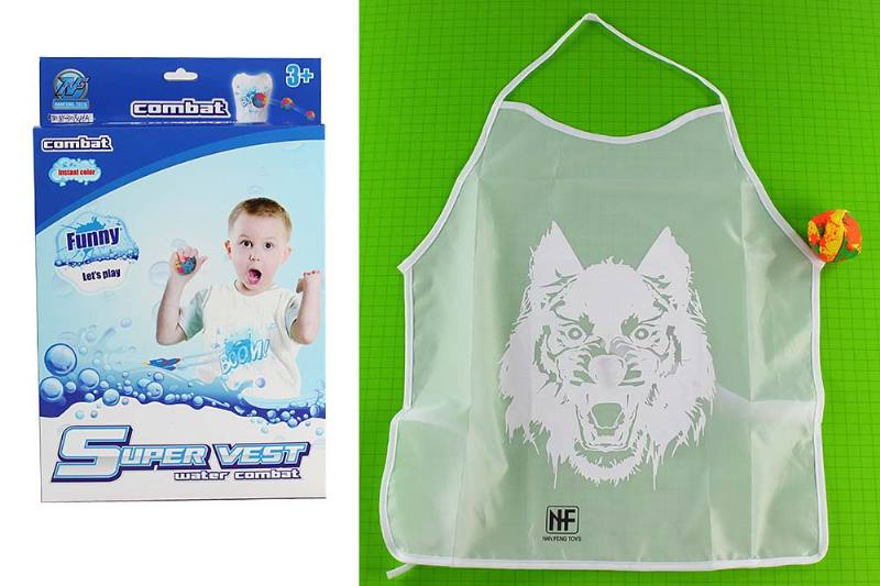 Water smashing protective clothing color clothing toys Color smashing combat clothing equi No.TA235172