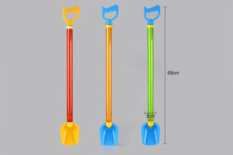 Beach shovel water gun 68cm (diameter 3cm) No.TA249959