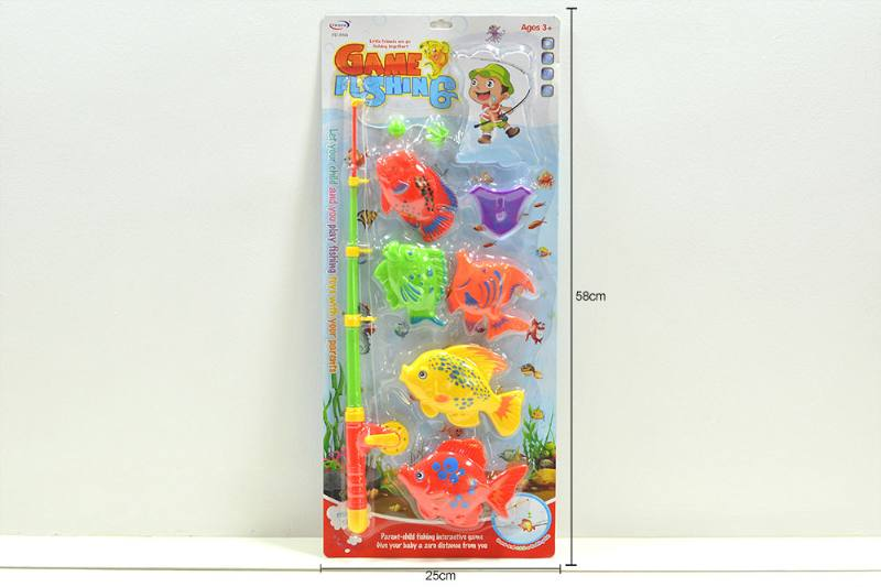 Educational water beach toys fishing game toys No.TA254483