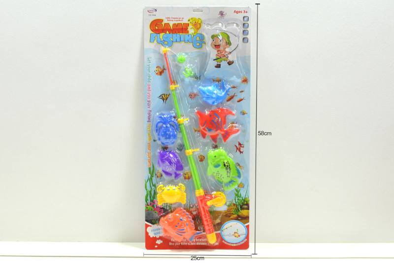Educational water beach toys fishing game toys No.TA254484