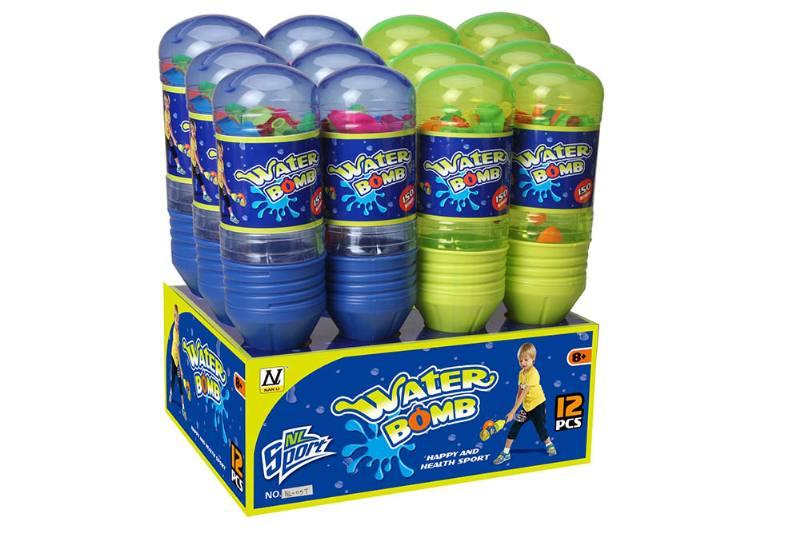 Sports Toys 32.5cm Baseball Bat Water Ball (12 Pack) No.TA248784