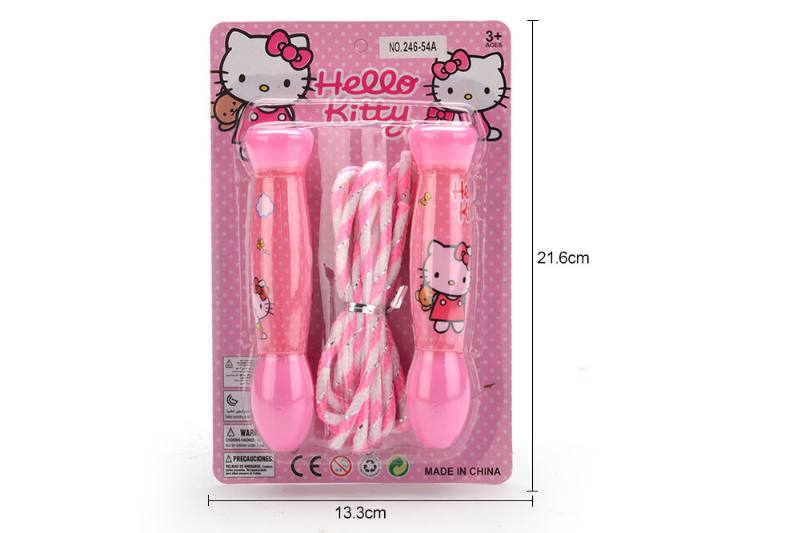 Sports Toys KT Cat Pattern Jump Rope Toys No.TA249652