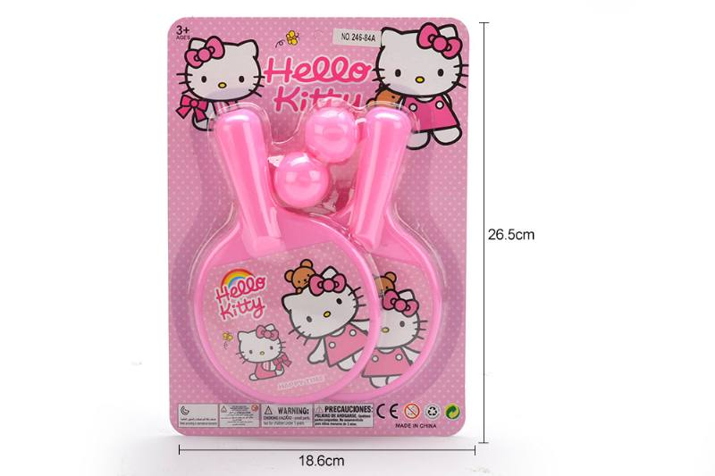 Sports Toy KT Cat Pattern Table Tennis Toy No.TA249658