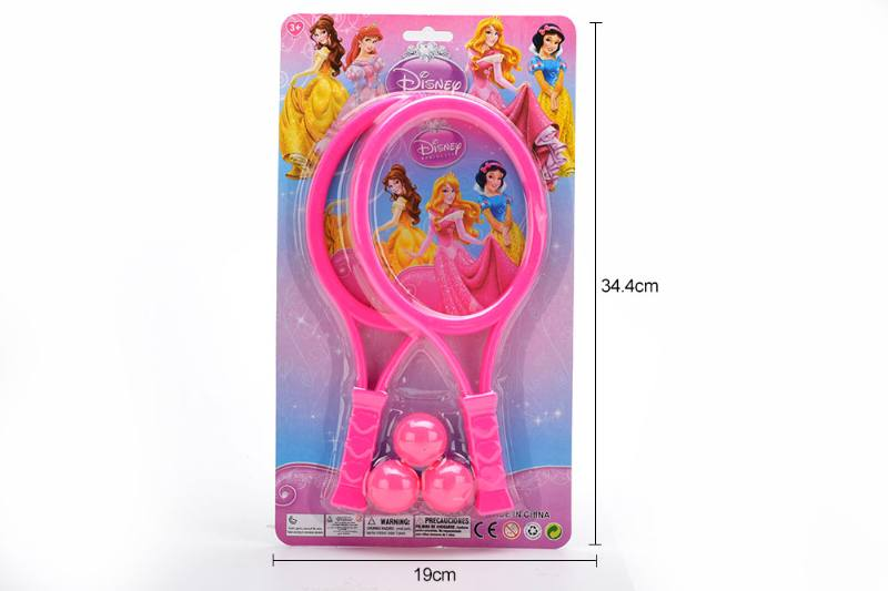 Sports toys PE film racket toys (Princess - pattern red) No.TA249712