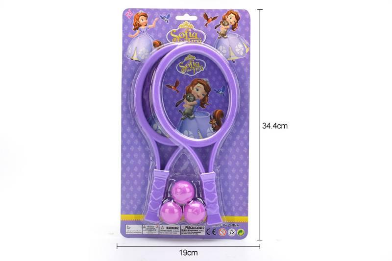 Sports toys PE film rackets toys (Sofia - purple) No.TA249715