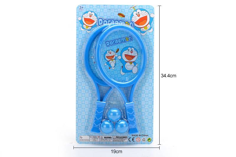 Sports Toy PE Membrane Racket Toys (jingle cat-blue) No.TA249717