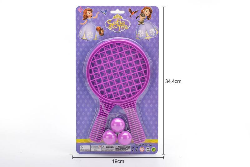 Sports Toys Grid Racket Toys (Sofia-Purple) No.TA249723