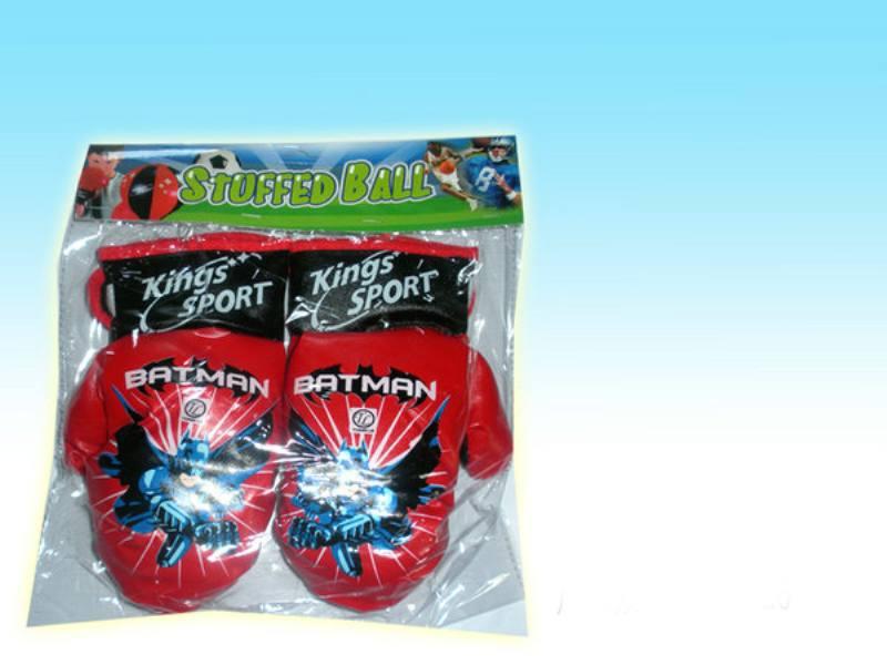 Sports Fitness Toys Boxing Gloves Batman Hard Leather Mini Gloves No.TA147449