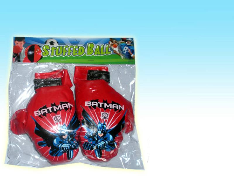 Sports Fitness Toys Boxing Gloves Batman Soft Leather Gloves No.TA147450