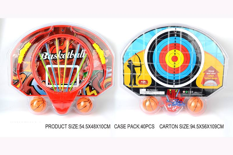 Sports toy cartoon basketball board bow and arrow set No.TA253575