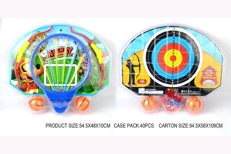 Sports Toys Mickey Basketball Board Bow and Arrow Set No.TA253576