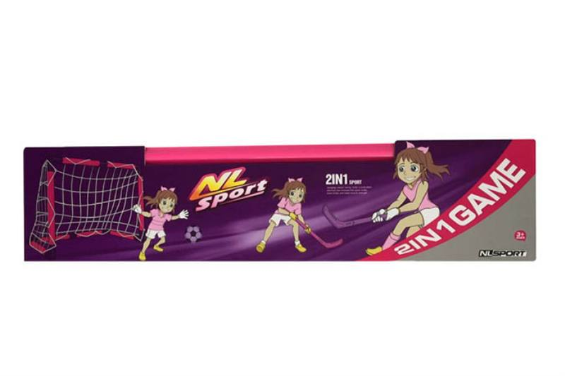 Plastic soccer goal shot outdoor sports Sports toys Football goal Hockey (two in one) No.TA248564
