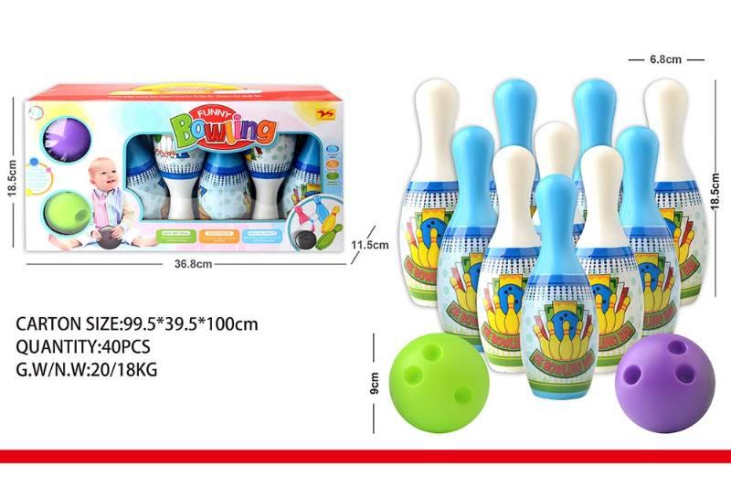 Sports Toys Cartoon Bowling No.TA240354