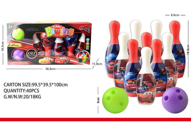 Sports Toys Cars Bowling No.TA240356