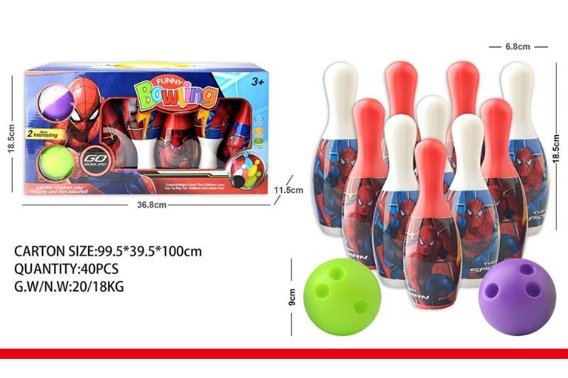 Sports Toys Spiderman Bowling No.TA240358