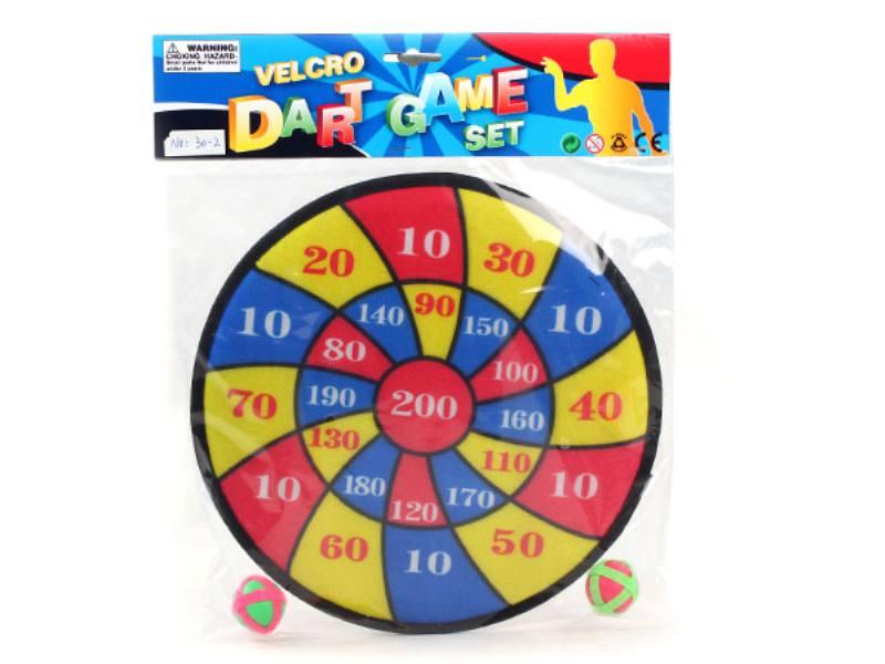 2 ball 30cm target darts fly target baby safety darts kindergarten activities DART target  No.TA146235