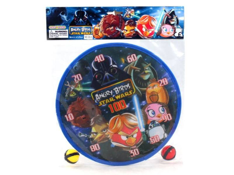 Angry Birds 2 Ball 30cm Target Dartboard Flying Targets Baby Darts Kindergarten Activities No.TA146238