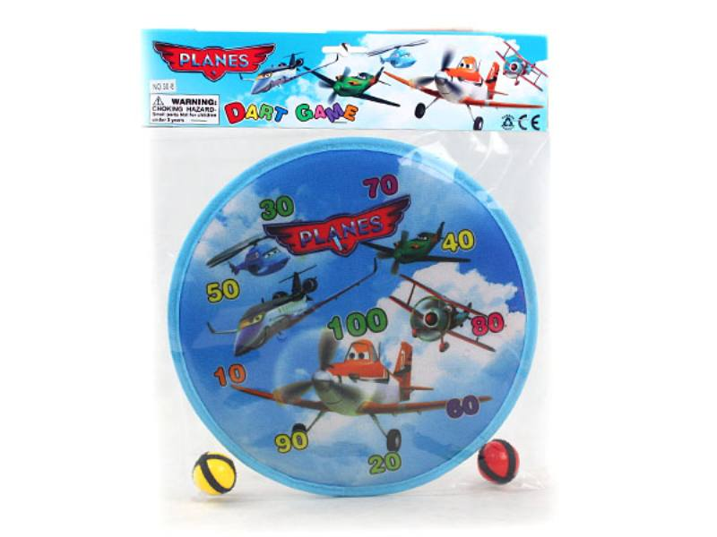 Princess 2 ball 30cm target darts dive target baby safety darts kindergarten activities DA No.TA146241