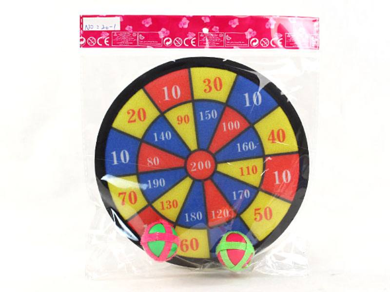 2 ball 20cm target darts fly target baby safety darts kindergarten activities DART target  No.TA146242