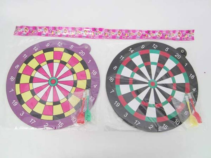 Indoor and outdoor leisure sporting goods toys Magnetic darts target 2 colors mixed darts  No.TA162609