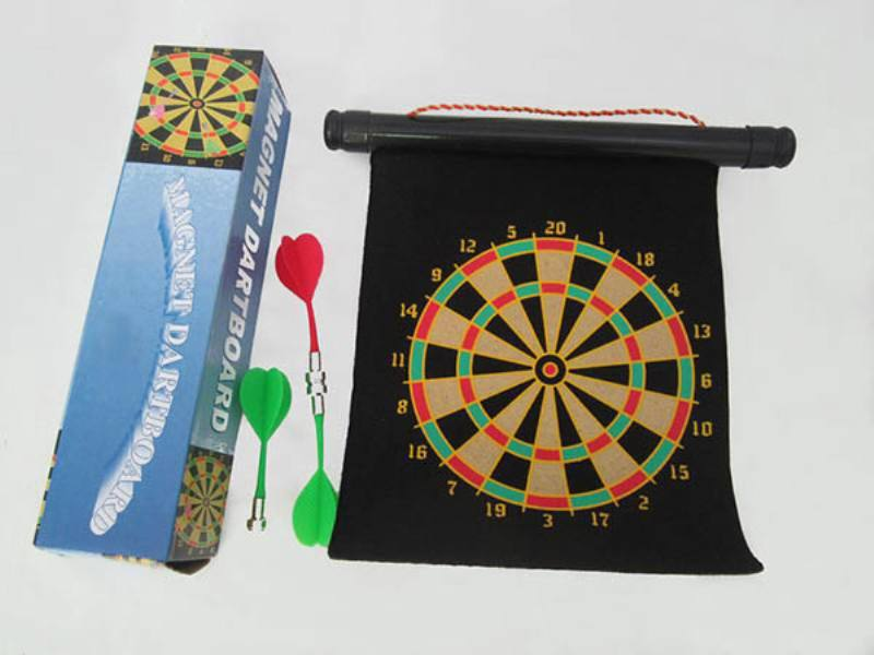 Indoor and outdoor leisure sporting goods toys Wall map magnetic darts target darts disk e No.TA162611
