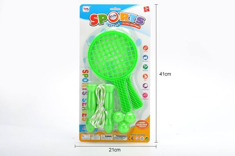 Sport toy grid racket rope skipping toy No.TA249736
