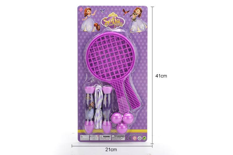 Sport toy grid racket rope skipping toy No.TA249738