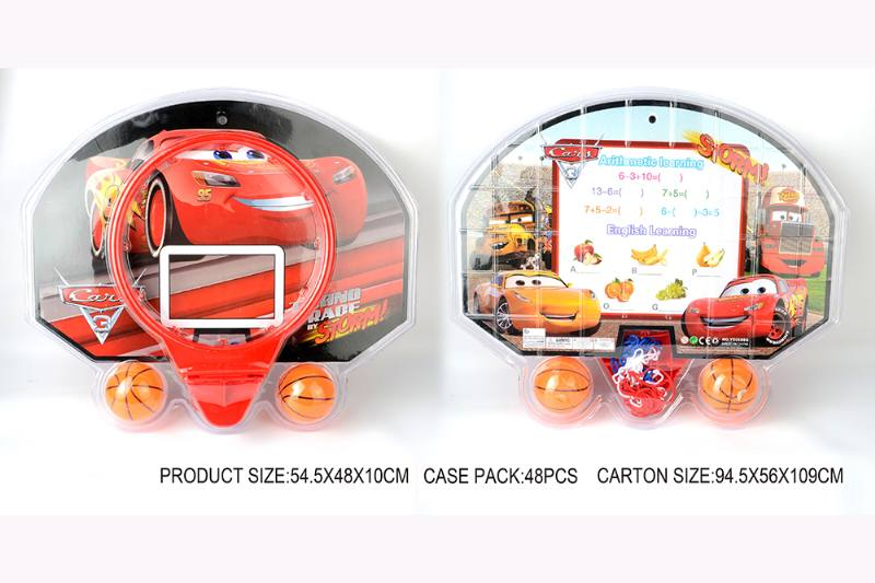 Sports toy car mobilization puzzle basketball board No.TA253566