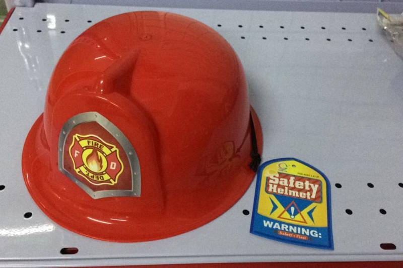 Fire Toy Series Fire Hat (Red) No.TA237619
