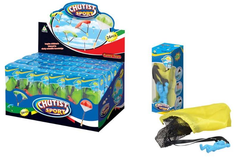 Simulation Military Model Toy Series Parachute 24/Display Box No.TA239512