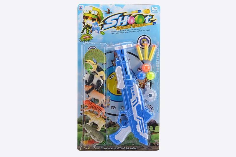 Military soft bullet gun toy series Soft bullet gun animal combination No.TA238253