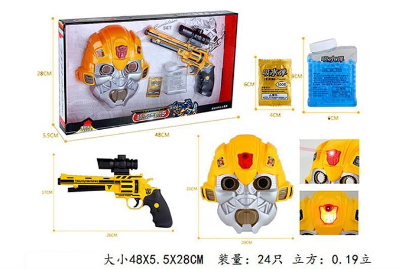 Military water soft bullet gun toy series Rong Kai super vajra 5 water gun mask/3C certifi No.TA242218