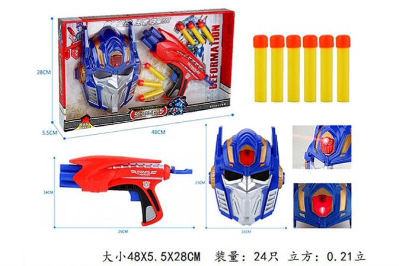 Military water soft bullet gun toy series Rong Kai super soft diamond 5 soft gun mask/3C c No.TA242219