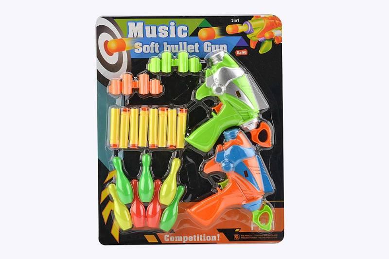 Military water soft bullet gun toy series Double aircraft soft bullet gun Bowling No.TA243170