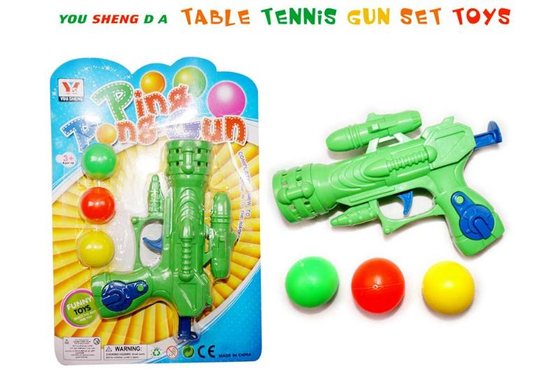 Toy Gun Ping Pong Gun No.TA237106