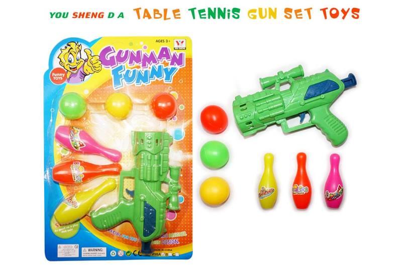 Toy Gun Ping Pong Gun No.TA237109