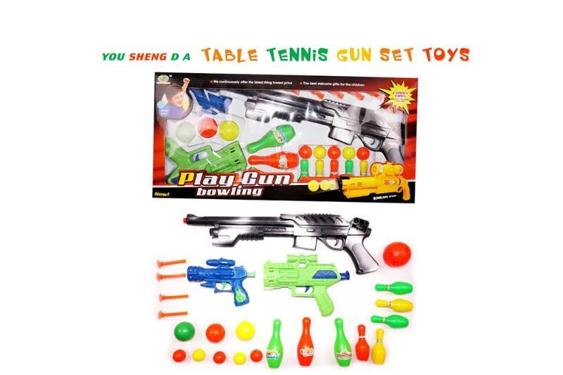 Toy Gun Ping Pong Gun No.TA237122