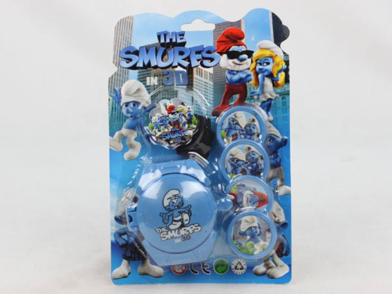 Catapult Toy Smurf Launcher No.TA109973