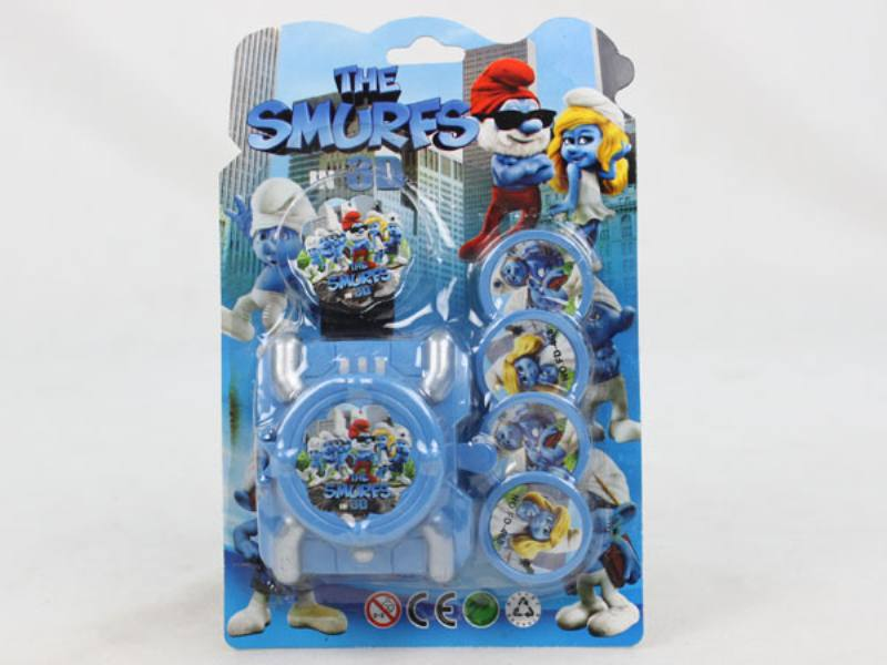 Catapult Toy Smurf Launcher No.TA109974