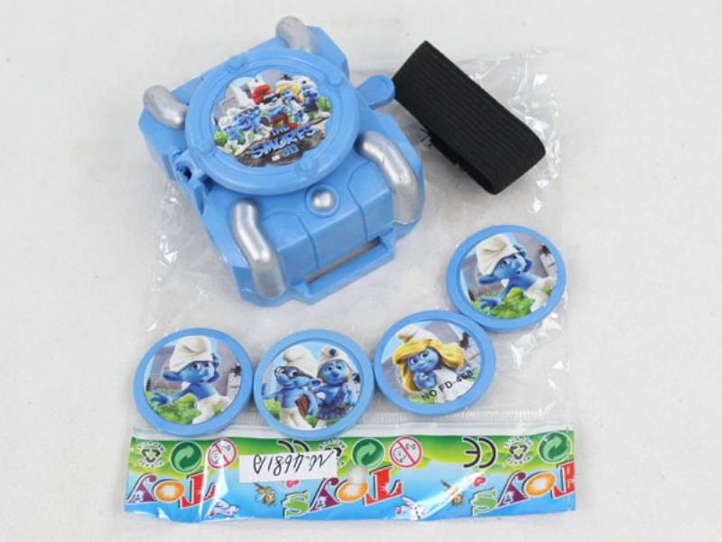 Catapult Toy Smurf Launcher No.TA109975