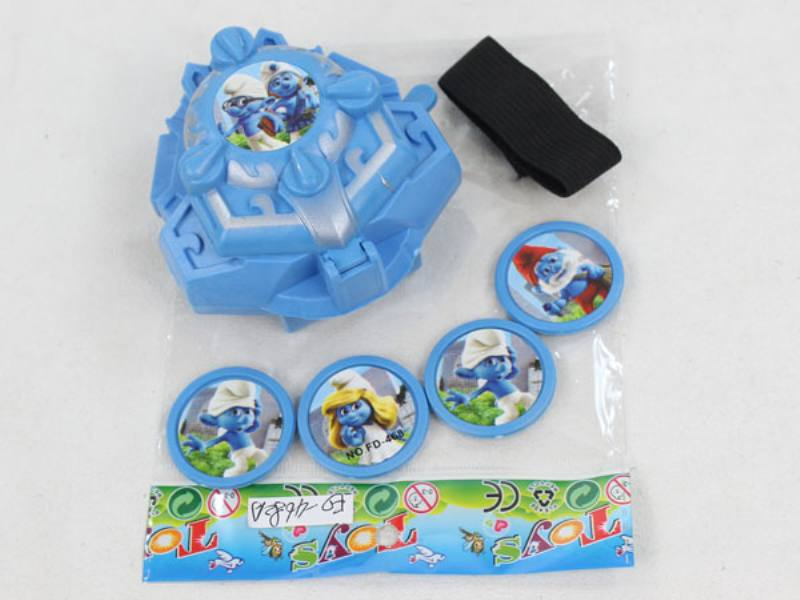 Catapult Toy Smurf Launcher No.TA109977
