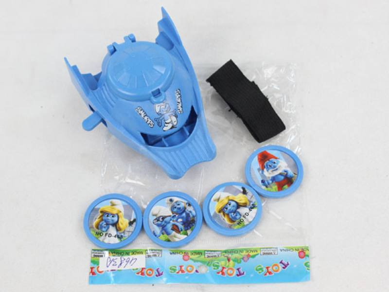 Catapult Toy Smurf Launcher No.TA109979