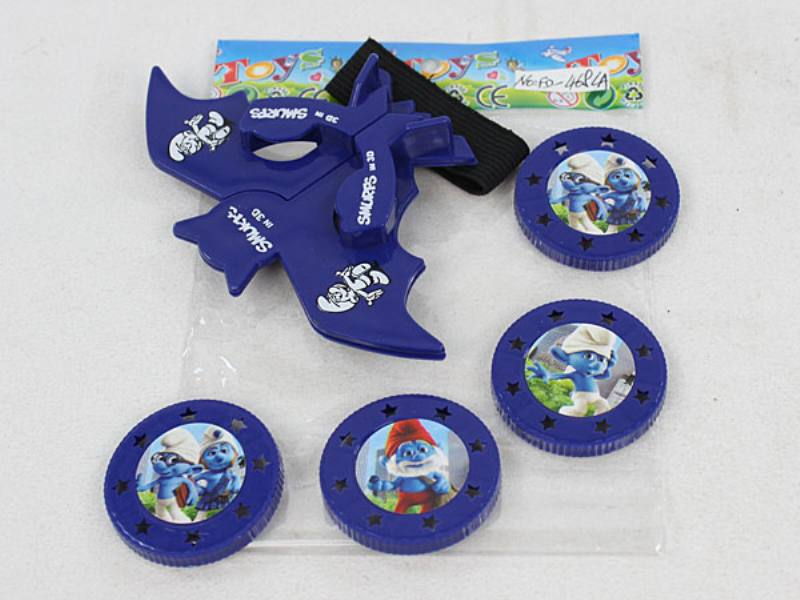 Catapult Toy Smurf Bat Launcher No.TA110044