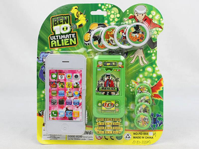 Catapult toy BEN10 Apple phone with mobile transmitter No.TA110053