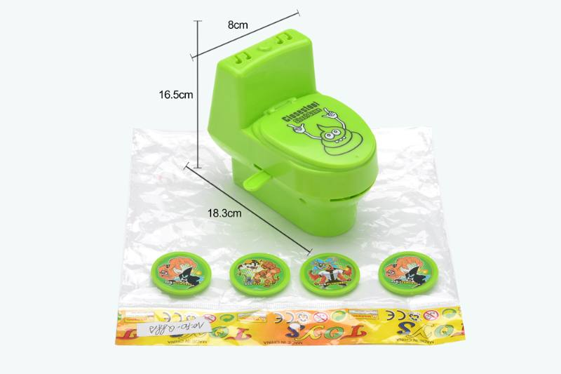 Catapult toy toilet launcher (BEN10 pattern) No.TA252937