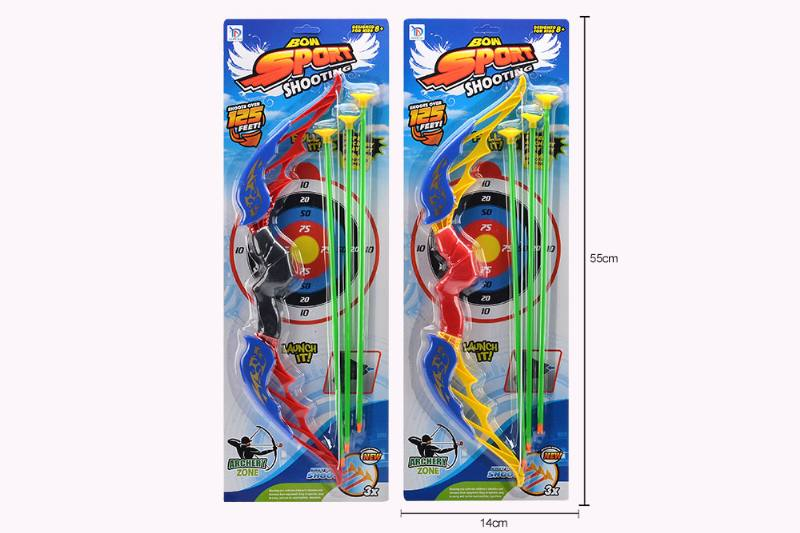 Military shooting toy bow and arrow boy bow and arrow toy No.TA254459